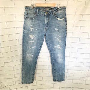 AMERICAN EAGLE. Extreme flex. Skinny jeans. Sz34